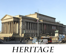 heritage St Georges Hall homepage