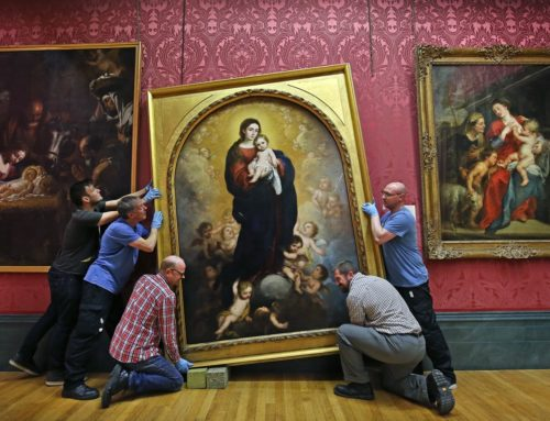 MURILLO ALTARPIECE RETURNS TO WALKER ART GALLERY